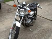 This is a 2006 Honda Rebel 250cc with only 6,000 miles.