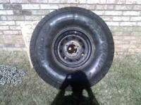 this is an all terrain tire not real aggressive but