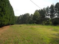 Approximately one acre lot with Leland Cypress trees