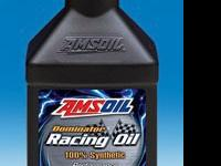 AMSOIL offers 3 premium synthetic racing oils specially