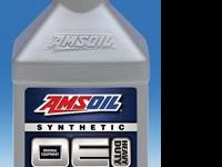 AMSOIL OE 15W-40 Synthetic Diesel Oil provides