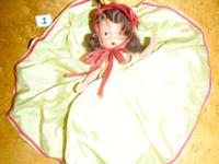 This listing is for an antique bisque Story Book doll.