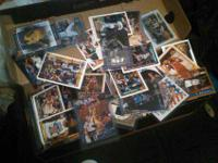 I am auctioning off my basketball card collection, I
