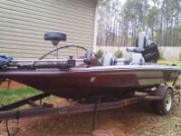 Have It is a 17.5ft Skeeter Bass Boat that has the