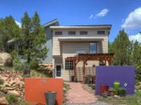 Unique, secluded charmer offers 1344 SF, 1 BR- 1 Full