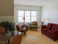 This third floor one bedroom condo has a spacious