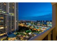 Enjoy enticing views of the beautiful Miami skyline the