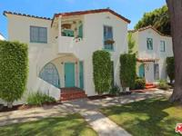 Vintage 1930's Spanish Santa Monica jewel. Top floor