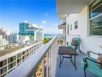 Enjoy sweeping views of the intracoastal and the ocean