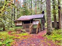 Secluded, lovely forest setting! Leased Land Cabin.