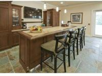 Gourmet Kitchens with upgraded Appliances, Swimming