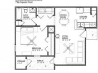 One and Two Bedroom Apartment Homes, Two Sparkling