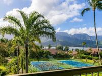 Great location at Hanalei Bay Resort with stunning