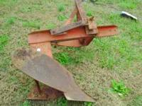 Used 1 bottom plow 3 point hitch Good condition Call
