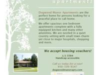 Dogwood Manor Apartments are the perfect home for