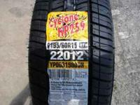 1 brand new tire for sale. Size: P195/60R15. Asking