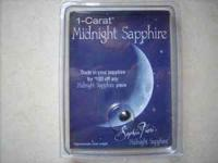 I have this 1 - Carat Midnight Sapphire stone that I