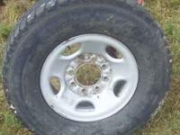 I Have 1 Chevy Rim And Mastercraft Tire Size LT