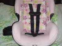 1 pink w/flowers. for children between 5-40lbs and