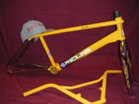 If you have an old bicycle lying around and would like