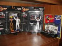 I have several Dale Earnhardt and Dale Jr. items that