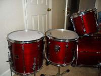 I am selling my Yamaha Stage Custom Drum Set, shells