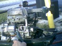 Parting out DT 9.9 hp, 15 hp Suzuki parts motor, 80s 15