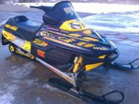 Now parting out a ZX chassis 2000 Skidoo Mxz 700. Many