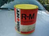 1 Gallon tractor yellow super-max automotive enamel