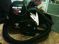 1 Gallon Shop-Vac Wet Dry Vacuum. Comes with Holder,