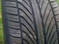 I have 1 Goodyear eagle f1 tire. Size is 285/35/19 tire