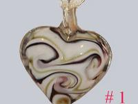 "I have some Beautiful ""Murano"" Glass Heart Pendants"
