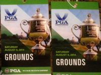 I have one Saturday general admission tickets to PGA