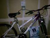 We have a men's and woman's bicyle for sale. the baby