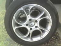 I have a set of 4 American racing wheelsand tires. They