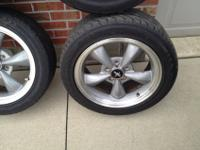"Mustang or Cobra 17"" OEM Aluminum Wheels, with Goodyear"