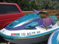 1996 Yamaha Wave Venture1994 Polaris SLT 750& 2 Place