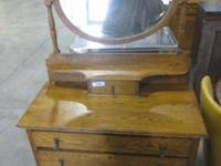 Bakers Rack, Bookcase with Glass Doors, Butter Churn,