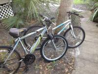 I have 2 nice bikes a girls and a boys roadmasters I