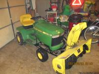 I OWNER JOHN DEERE LX 188 V-TWIN 17 HORSE POWER LIQUID