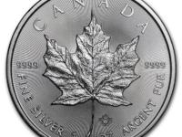 1 oz 2016 Canadian Maple Leaf $ 5 Silver Coin 9999