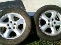"""I have 1 pair of 16"""" alloy wheels that were factory"""