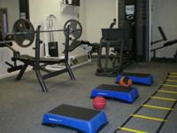 Work with a top personal trainer in our 2,000 sq ft