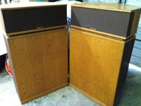 This post is for a beautiful pair of Klipsch K-Horns in