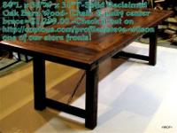Handmade made in the US high quality furniture made