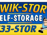 Kwik Stor Self Storage is offering you a 30 day free