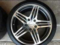 I'm selling one set of 19 inch turbo Wheels with