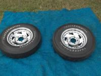 I have 1 Nice Spare Tracker Marine Tire & Rim in good