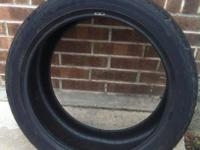 In great condition tire has about %80 Tread Left