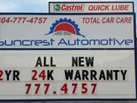 Suncrest Automotive Offers Auto Repair Services You Can